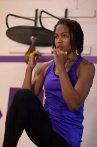 W3P Fitness participant Timara McMillan.