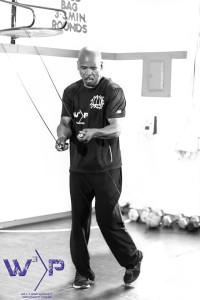 Former World Champion Boxer, now Trainer Willy Wise Jumping Rope