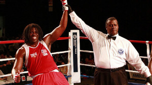 Formerly Lenroy Thompson, Cam F. Awesome is rebuilding his promising career that was stalled in 2012 while a team member of the US Olympic Boxing Team.