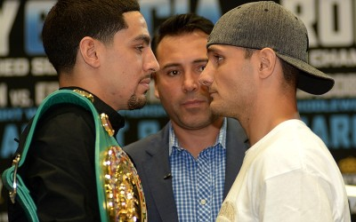 Danny Garcia will defend his titles against Rod Salka in the ring at the Barclays Center on Saturday, August 9th.